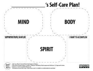 Social-Work-Tech-Self-Care-Plan